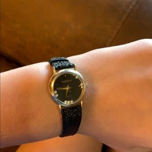 Jewelry - A leather watch-it watch